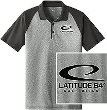 Latitude 64 Golf Discs Swoosh Short Sleeve Performance Disc Golf Polo Shirt