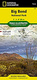 Big Bend National Park (National Geographic Trails Illustrated Map (225))