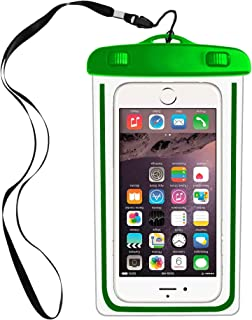 IPX8 Universal Waterproof Case Compatible with iPhone X XS MAX XR 7,8 6/6S Plus,6 6S 5 5S SE 5C, Galaxy S9,s8/s8plus/s7 Google Pixel Smartphone Diagonal to 6