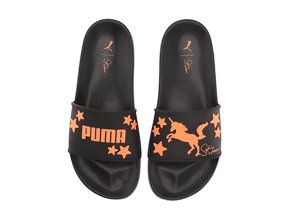 PUMA Leadcat Rubber (Puma Black/Fluo Flash) Women