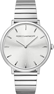 Rebecca Minkoff Women's Silver Dial Stainless Steel Band Watch - 2200019