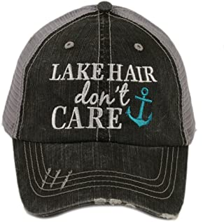 Lake Hair Don't Care Women's Trucker Hat