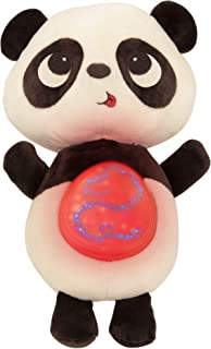 B. Toys – Twinkle Tummies Panda– Soothing Plush Animal for Infants with Glowing Tummy & Six Lullabies