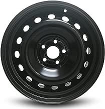 Road Ready Car Wheel For 1999-2005 Volkswagen Jetta Volkswagen Golf 1998-2009 Volkswagen Beetle 16 Inch 5 Lug Black Steel Rim Fits R16 Tire - Exact OEM Replacement - Full-Size Spare
