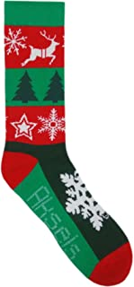 Aksels Fun and Festive Christmas Calf Socks for Men and Women