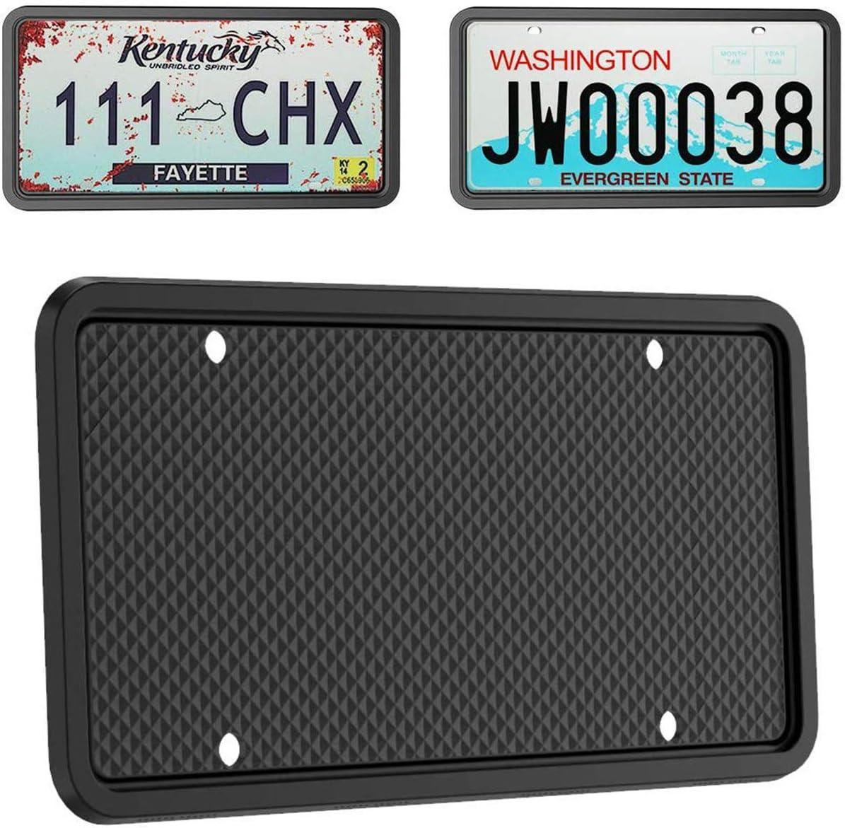 sale Molitec Silicone License 2021 Plate Pack Frames 1 Car