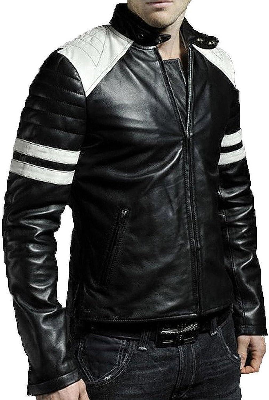 Laverapelle Men's Black Genuine Lambskin Leather Jacket - 5005