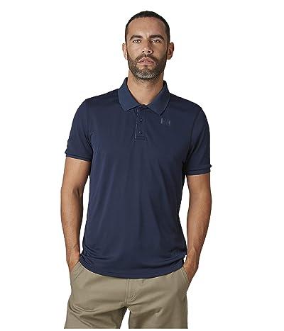 Helly Hansen Lifa Active Solen Short Sleeve Polo (Navy) Men