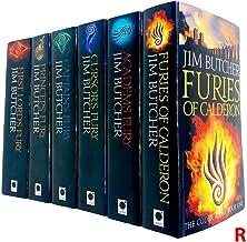 Codex Alera Book Series 6 Books Collection Set by Jim Butcher (Furies Of Calderon, Academ's Fury, Cursor's Fury, Captain's...