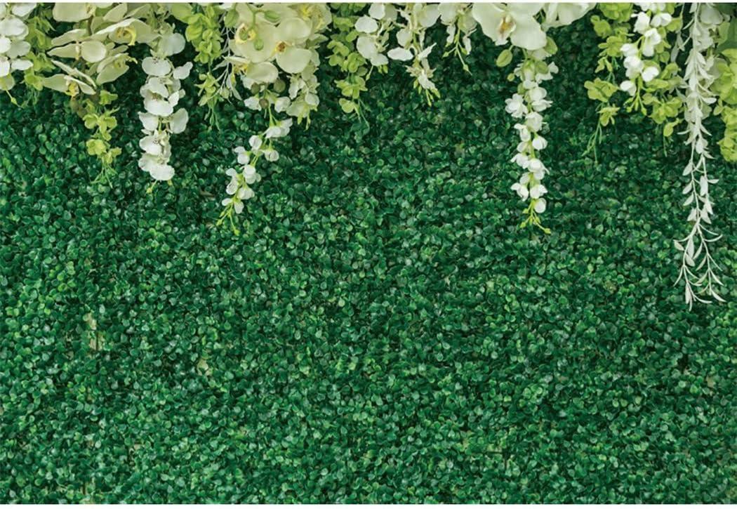 Greenery Backdrop Regular dealer Wall for Photography LFEEY Vinyl 10x8ft Green Oklahoma City Mall