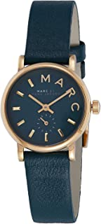 Marc by Marc Jacobs Women's Green Dial Leather Band Watch - MBM1272