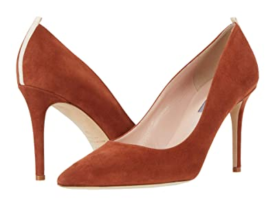 SJP by Sarah Jessica Parker Fawn 90mm (Rust Suede) Women