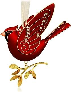 Ruby Red Cardinal Premium Ornament 2015 Hallmark