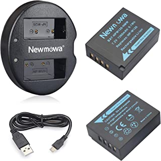 バッテリーパック Newmowa NP-W126 互換バッテリー 2個 + 充電器 セットFujifilm NP-W126 NP-W126S Fujifilm X-H1 Fuji FinePix HS30EXR HS33EXR HS50EXR X-A1 X-A3 X-A5 X-E1 X-E2 X-E3 X-M1 X-Pro1 X-Pro2 X-T1 X-T2 X-T3 X-T10 X-T100