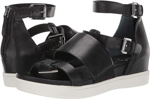 Black Nubuck Leather