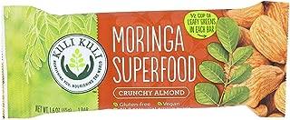 Kuli Kuli, Bar Moringa Superfood Crunchy Almond, 1.6 Ounce