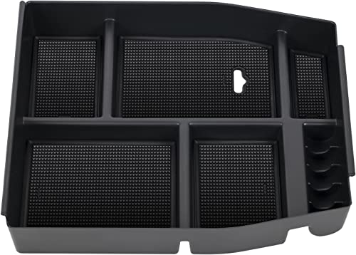 popular OxGord Center Console Organizer outlet sale Tray InsertArmrest Secondary Storage Glove Boxfor 2015-2017 Ford popular F150 Raptor Vehicles outlet sale