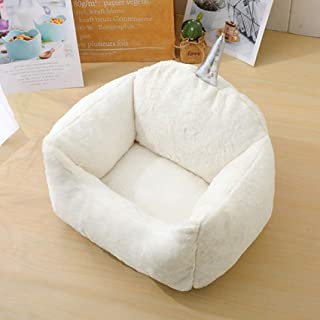 Warm Comfort Pet Bed for Small Animals, Bed, Soft Washable, Creative Design, Bottom Non-slip and Water Resistant, Fluffy S...