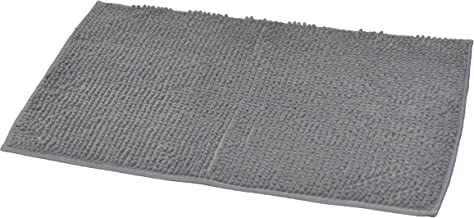 EVIDECO Soft Microfiber Area Polyester Luxurious Balls Mat Bath Rug,7708181, Gray