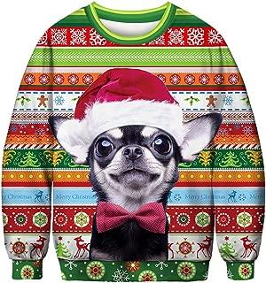 URVIP Unisex Halloween Christmas Themes 3D-Print Athletic Sweaters Fashion Hoodies Sweatshirts