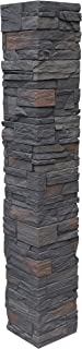 NextStone Country Ledgestone 2pc Split Faux Stone Post Cover - 8