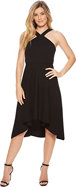 Calvin Klein Halter High-Low Dress CD8C14JK