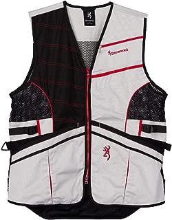 Browning Ace Shooting Vest Black/Red (L)