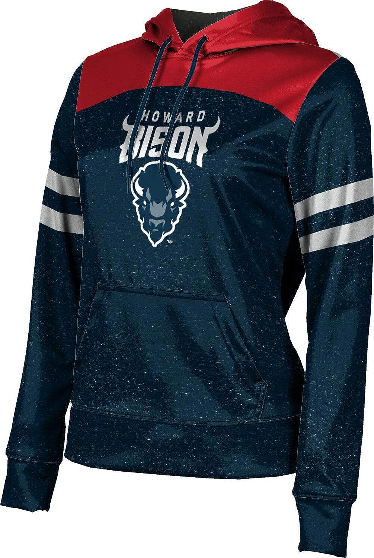 Howard University Girls' Pullover Hoodie, School Spirit Sweatshirt (Gameday)
