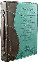 Turquoise «Esperanza» Bible / Book Cover - Lamentations 3:21-24 (Large) (Spanish Edition)