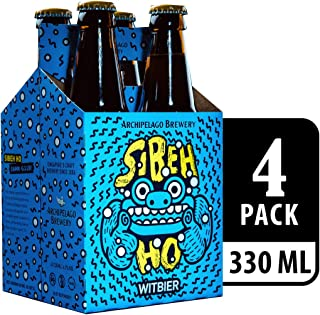 Archipelago Brewery Sibeh Ho Witbier Beer, 4 x 330ml