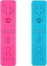 Yosikr Wireless Remote Controller for Wii Wii U-2 Packs Pink and Blue