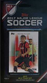 2017 Topps MLS Atlanta United Team Set of 7 Cards: Jacob Peterson(F), Hector Villalba(F), Romario Wi