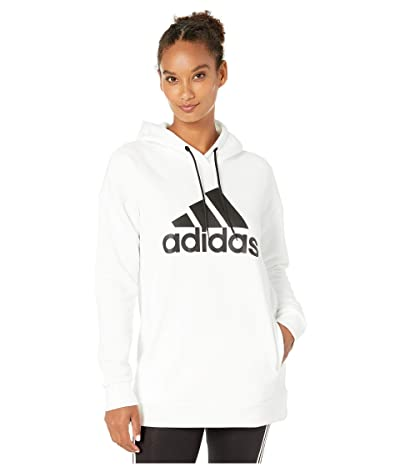 adidas Must Have Badge of Sport Hoodie (White) Women