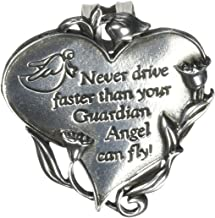 Cathedral Art KVC330 Heart Visor Clip, Never Drive Faster, 2-3/4-Inch
