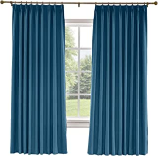 Best navy blue pinch pleat drapes Reviews