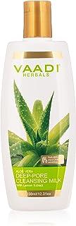 Vaadi Herbals Aloe Vera Deep Pore Cleansing Milk, 350ml