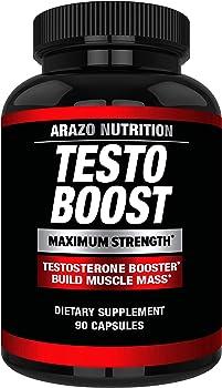 TESTOBOOST Testosterone Booster Supplement   Poten…