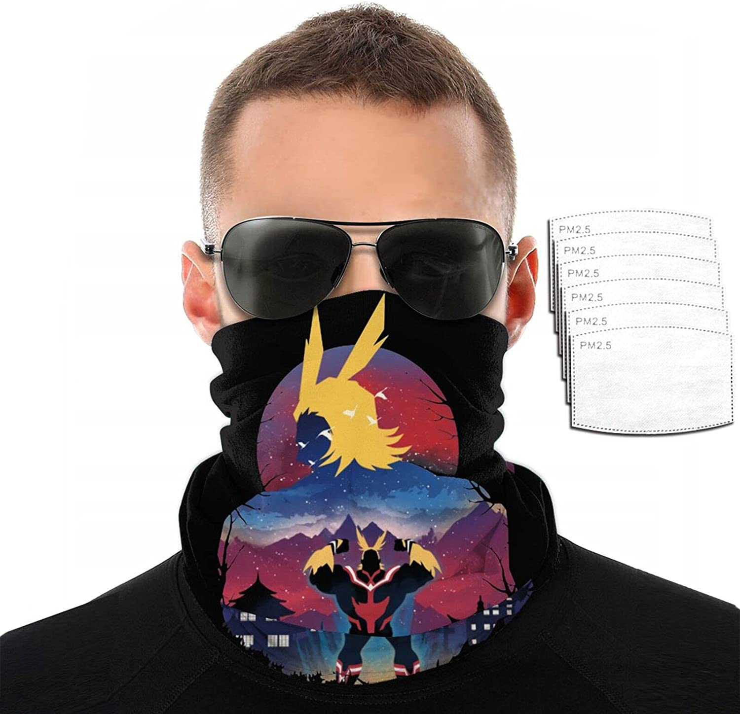 Anime My Hero Academia All Might Printing 3D Variety Ranking TOP6 Fashionable Face Towel