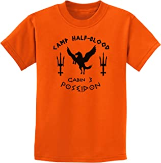 Cabin 3 Poseidon Camp Half Blood Childrens T-Shirt