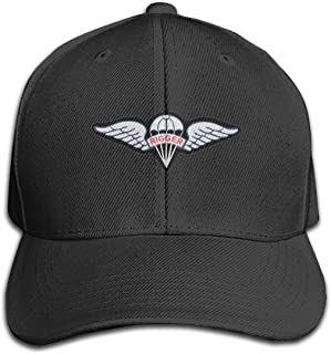 Army Rigger Wings Baseball Casquette Hats Classic Men Women Adjustable Plain Hat