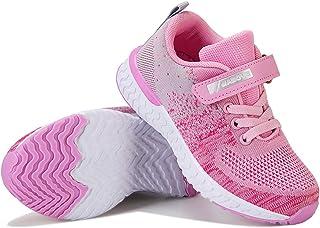 Baskets Fille Garcon Chaussures de Sport Enfant Sneakers Mode Chaussure de Course Confortable