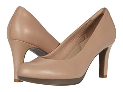 Clarks Adriel Viola (Praline Leather) High Heels