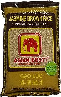 Asian Best Jasmine Brown Rice, 5 Pound