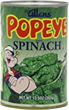 Allen's Popeye Spinach, 13.5000-Ounce (Pack of 6)
