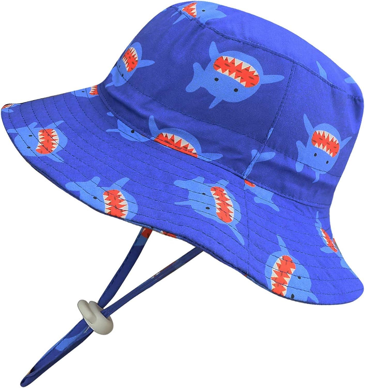 Mengar Max 68% OFF Max 50% OFF Kids Sun Hat Fisherman Cotton Hats Reversible Bucket