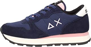 SUN68 Z40201 11 Nero Ally Solid, Sneakers Donna, Running Adult, Nylon Woman