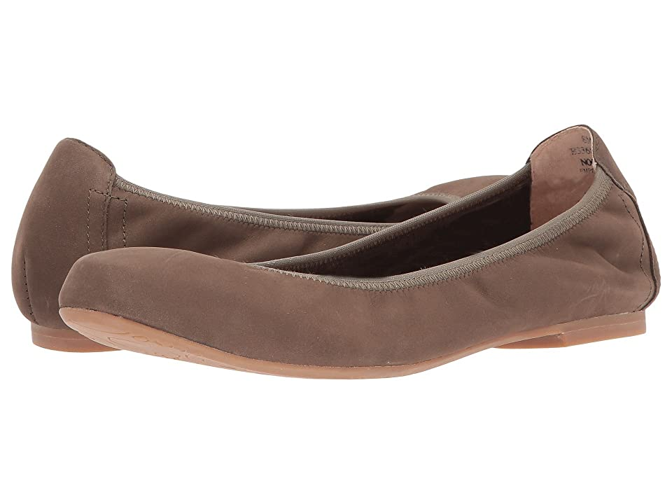 Blondo Becca Waterproof Flat (Taupe Nubuck) Women