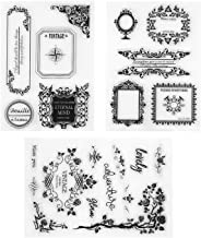 Clear Stamps Flowers Banners Cute Boarders Music Coffee