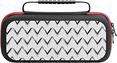 $26 » Brush Stroke Seamless Pattern Case Compatible with Switch Case Protective Carry Bag Hard Shell Storage Bag Portable Travel...