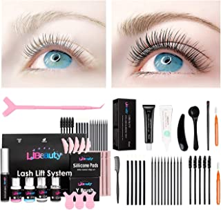 Libeauty Lash Lift and Tin-t At Home, black eyelash lifting kit, eyelash d-yeing and lifting 2 in 1, thick coloring to lif...